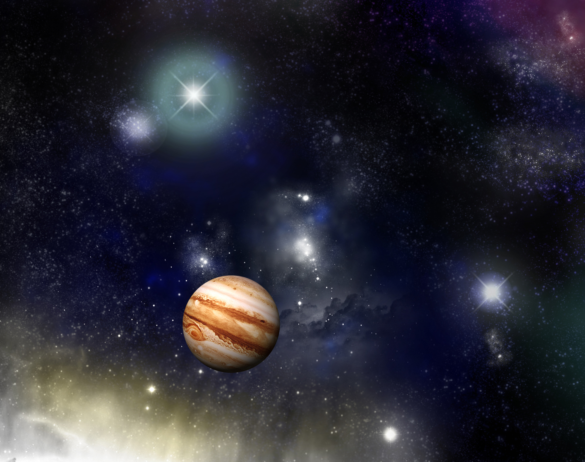 We Are the Dreamers of Dreams - the Jupiter/Neptune